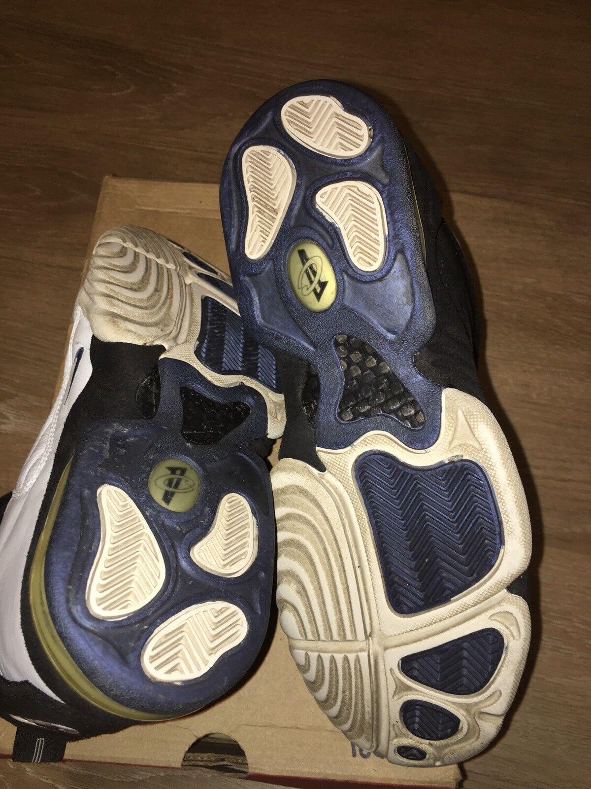 41d61c8dedd481 ... Vintage 1998 Nike Air Penny Hardaway Hardaway Hardaway IV Basketball  Shoes OG Size 9.5 Jordan 75122e ...
