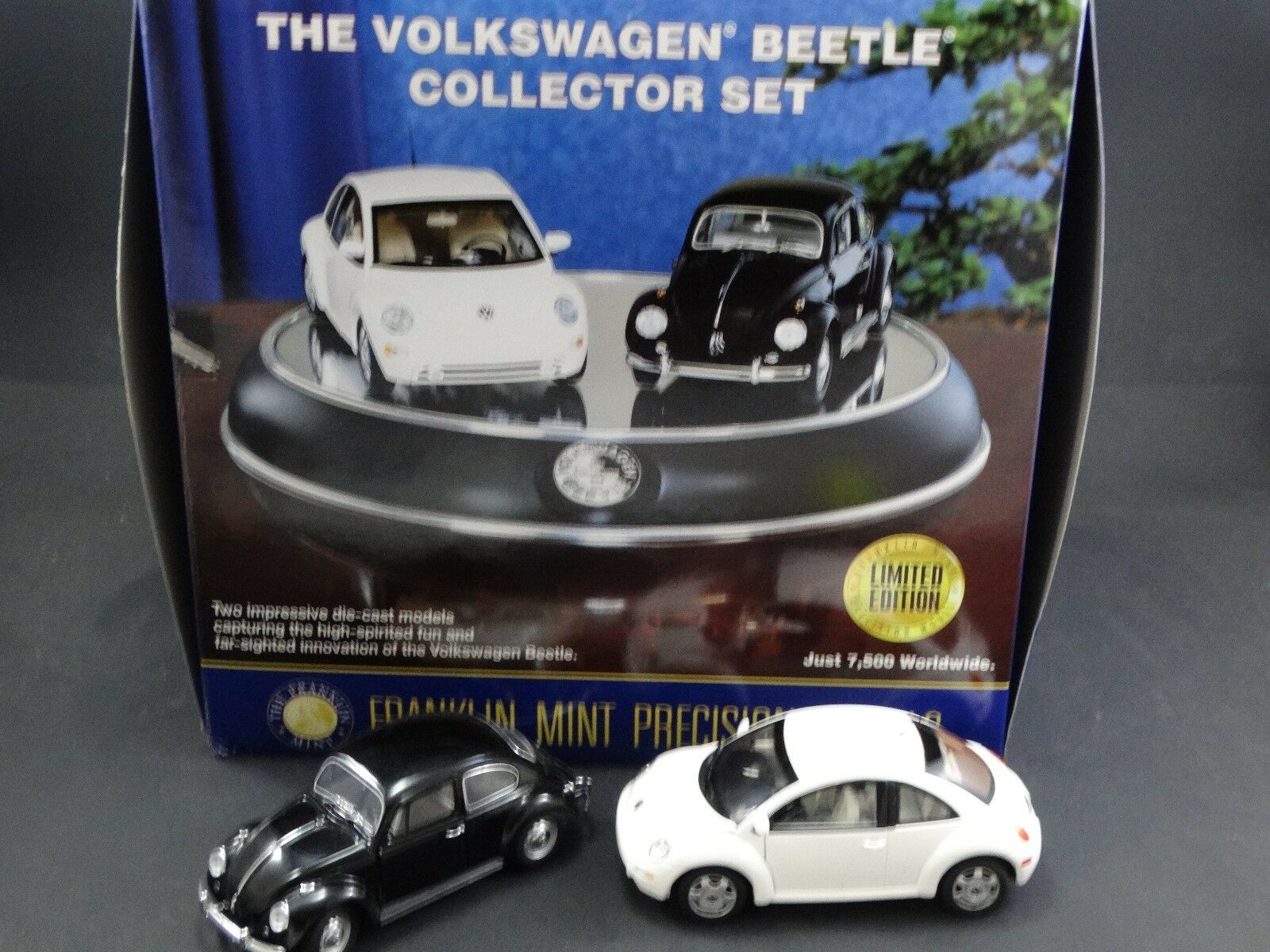 Franklin Comme neuf 1967 1998 VOLKSWAGEN BEETLE collector set 1 24 Diecast Model Cars
