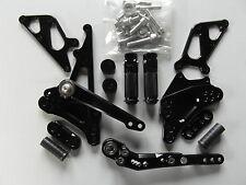 Suzuki GSX R 1000 K9 L0 L1 L2 L3 L4 L5 L6 CNC Fußrastenanlage Rear Set schwarz