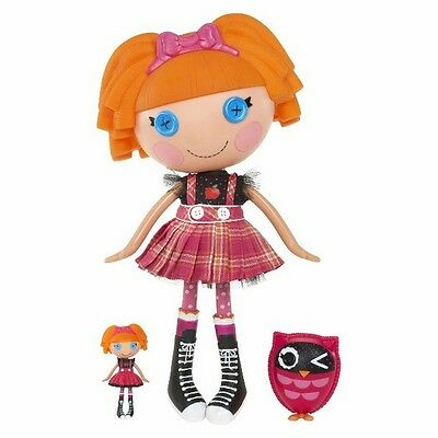 2013 Lalaloopsy Mittens Fluff N Stuff Full Size Doll /& Pet /& Bonus Mini Doll NEW