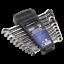 AK63914 Sealey Combination Ratchet Spanner Set 10pc Extra Long Métrique clés