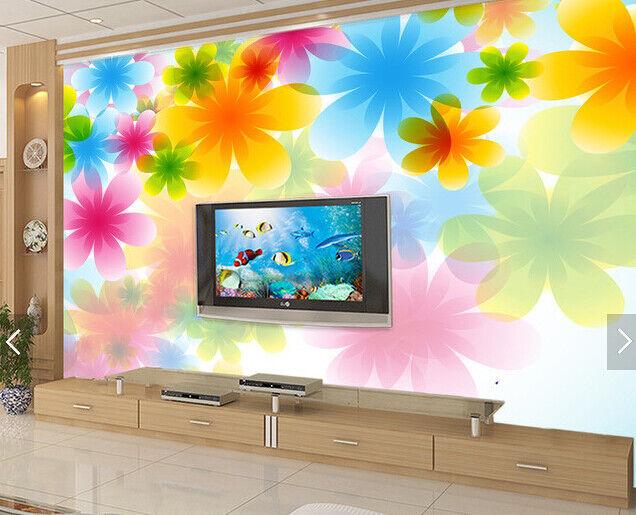 3D Petal Farbe 599 Wallpaper Murals Wall Print Wallpaper Mural AJ WALL AU Kyra