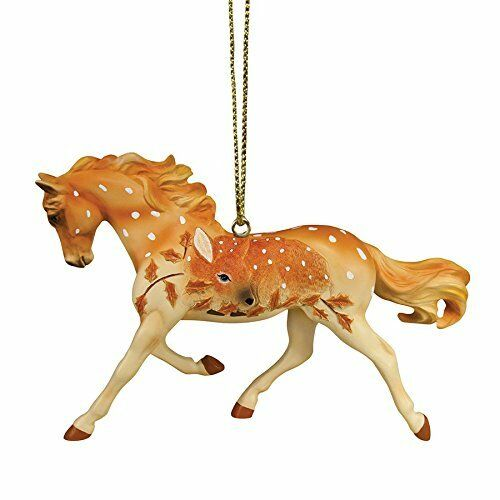 TRAIL OF PAINTED PONIES - Fawn Memories - Christmas Ornament - Resin