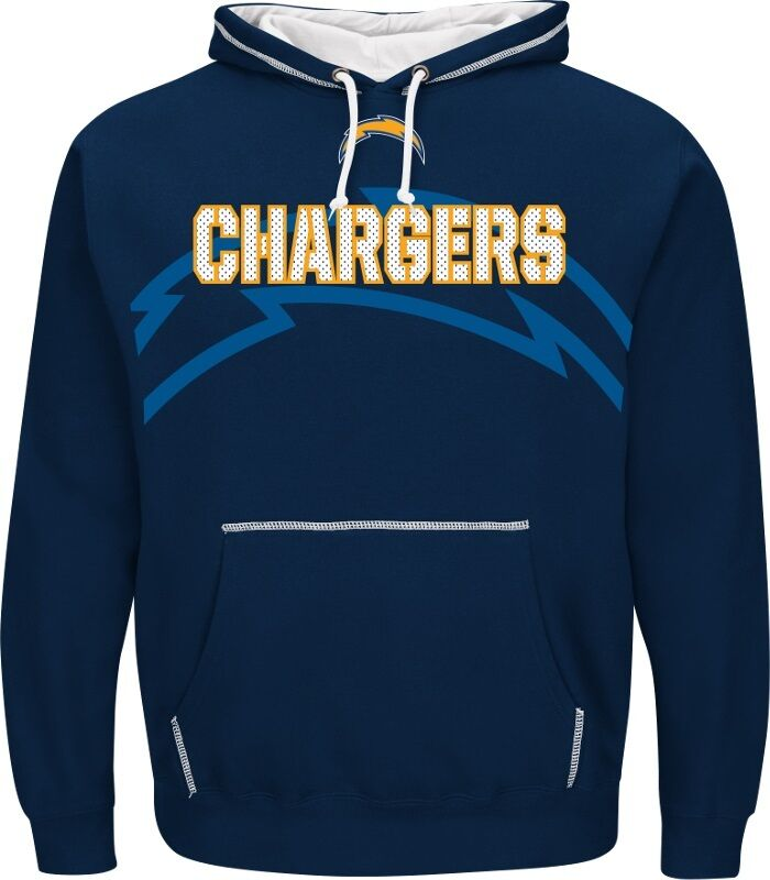 NFL FOOTBALL Hoody kaputzenpullover Los Angeles Chargers seampass HOODED HOODIE