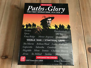 juego wargame - THE PATHS OF GLORY DELUXE EDITION - GMT Games - WWI