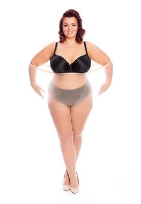 All Woman 20 Denier Short Ladies Plus-Size Extra Large Tights XXXL UK Size 22-42