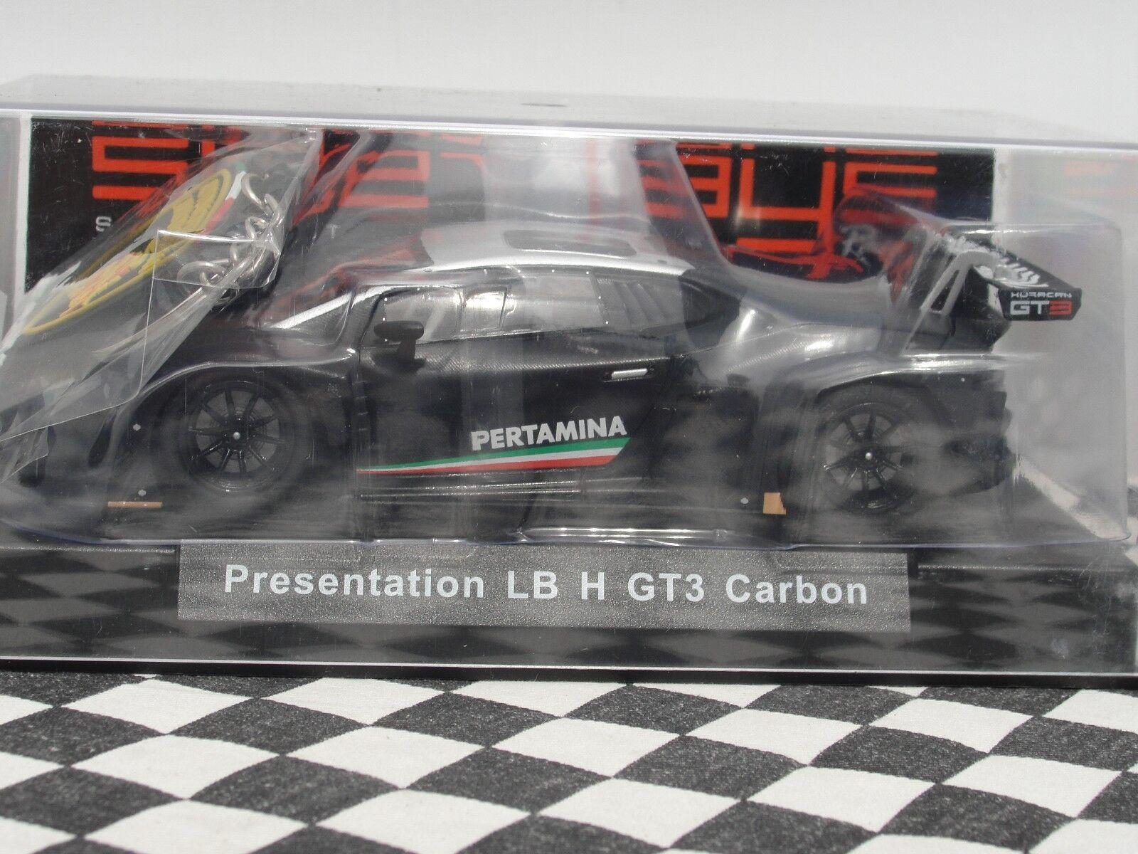 SIDEWAYS RACER  LAMBORGHINI HURACAN GT3 CARBON SWCAR01B 1 32 BNIB