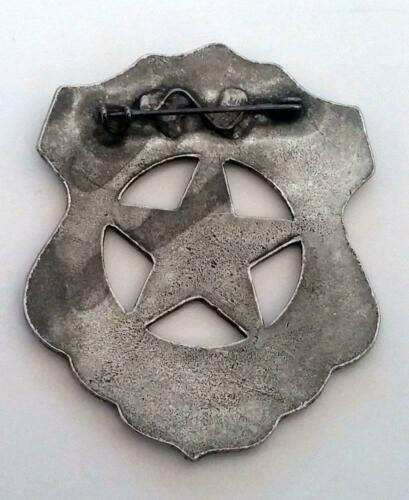 U.S Marshall Old West Historic Replica Badge Shield Star Pewter Made In The USA