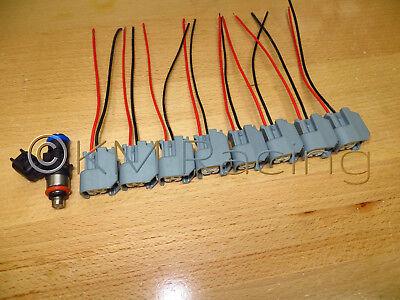 8PCS Fuel Injector 0280158051 for Camaro SS Corvette Pontiac G8 LS3 LS7 6.0 6.2L