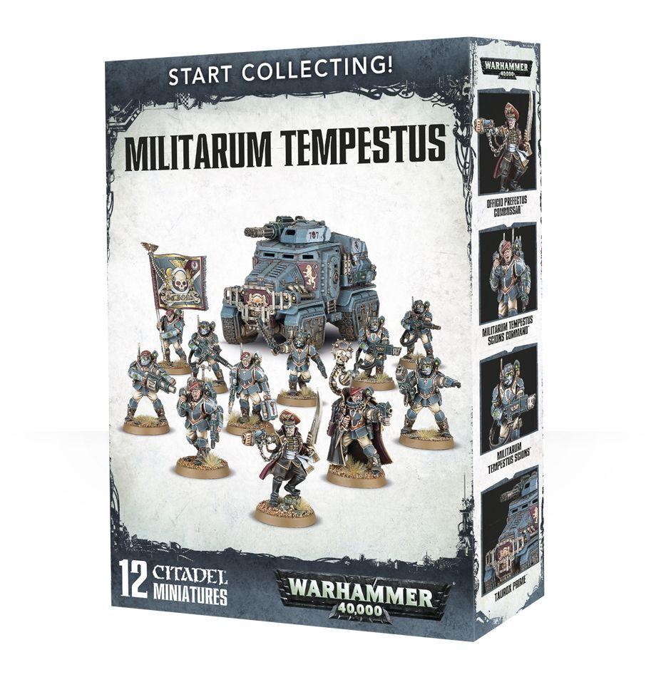 Warhammer 40K  Start Collecting  Militarum Tempestus 70-54