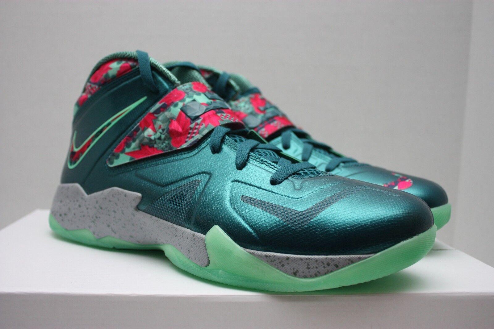 Nike zoom lebron zoom Nike soldato vii 7 coppia taglia 11 - south beach - 599264 300 311a3e