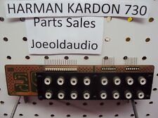 Harman Kardon 730 Original RCA In/Out Board Part # 00132104 Parting Out 730.***
