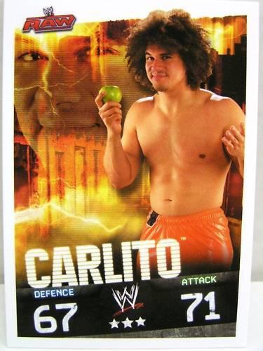 Slam attax evolution #048 Carlito