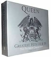Queen-Greatest-Hits-I-II-amp-III-The-Platinum-Collection-CD-New-Sealed