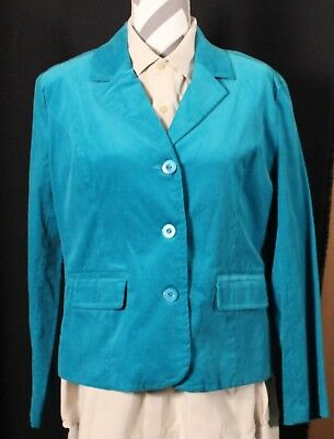 Elcc Turquoise Blazer Women's Size Medium And To Have A Long Life. Suits & Suit Separates Clothing, Shoes & Accessories