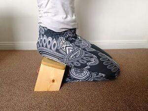 Gambe pieghevoli portatile meditazione in ginocchio panchina