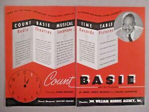 Count Basie double-page print ad - 1944-afficher le titre d`origine 8JQU9RsV-09092906-144037791