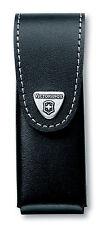 Victorinox Fodero Custodia Pelle Nera Coltello 111mm LARGE (4-8 Strati)