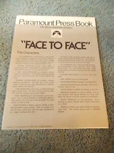 FACE-TO-FACE-1975-LIV-ULLMANN-ORIGINAL-PRESSBOOK
