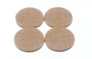 Paquet-de-10-Bandes-de-4-Rond-Feutre-Coussinets-Adhesif-32Mm-Diametre-4Mm-Epais