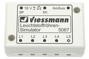 Viessmann-5067-Fluoriscent-Simulateur-Neuf
