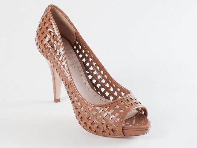 New Miu Miu by Prada Beige  Patent leather shoes Size 36.5 US 6.5