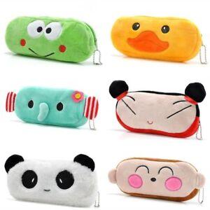 Cute Kawaii Pencil Pen Case Cosmetic Pouch Pocket Novelty Makeup Zipper Bag