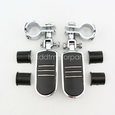 Chrome Foot Pegs Male Mount For Harley Softail Fatboy Heritage Softail Classic