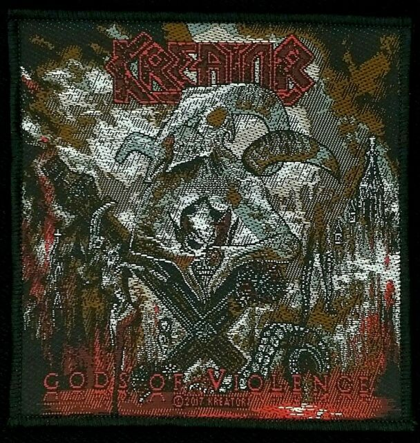 Kreator - Gods Of Violence Patch - metal band merch