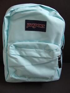 50884fd0a18 Details about NWT JANSPORT SuperBreak Aqua Dash Backpack Girls Book Bag  School Pack Padded NEW