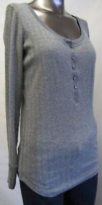 ,gr.38 usa Victoria's Secret,neuwertig,damen,shirt,langarm,grau/silber,s