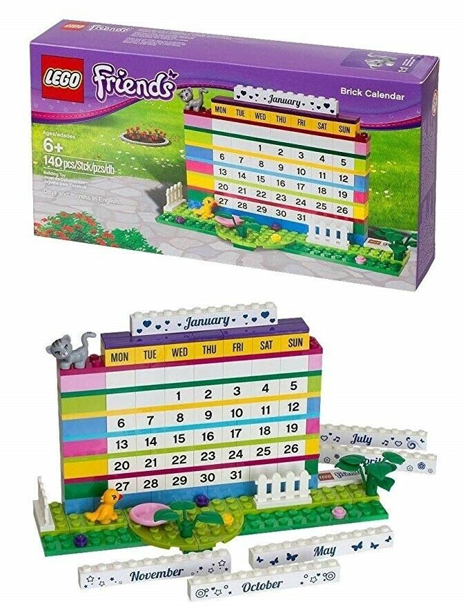 Lego Exclusives, 850581 Brick Calendar Friends