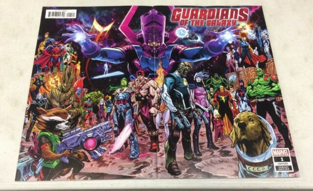 Guardians Of The Galaxy 1 (2019) Shaw Wrap Cover Variant