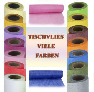 Tischband-Tischvlies-Tischlaeufer-viele-Farben
