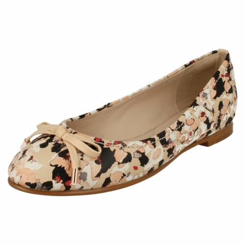 Camouflage Flat Size New Clarks Pumps Floral Lily 7d 51wWqCIn