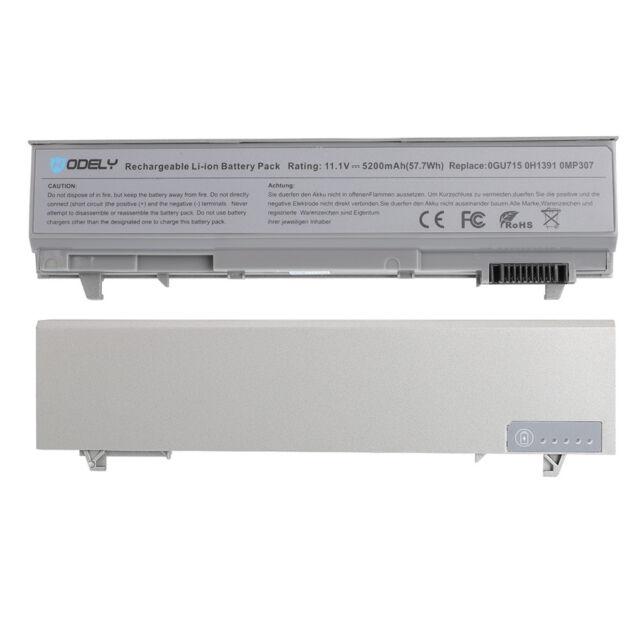 6 Cell Laptop Battery For Dell Latitude E6400 E6410 E6500 E6510 PT434 MP303 New