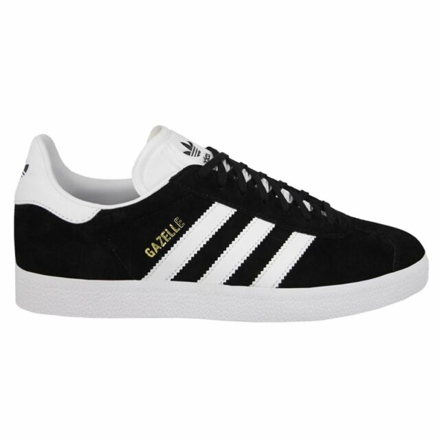 adidas Gazelle Black White Mens Trainers UK 7  e6d506850