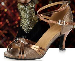 New Women/'s Girl /'s Ladies Ballroom Latin Tango Party Dance Shoes high quality