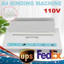 A4 Thermal Binding Machine Contract Document Invoice Electronic Binding 50mm