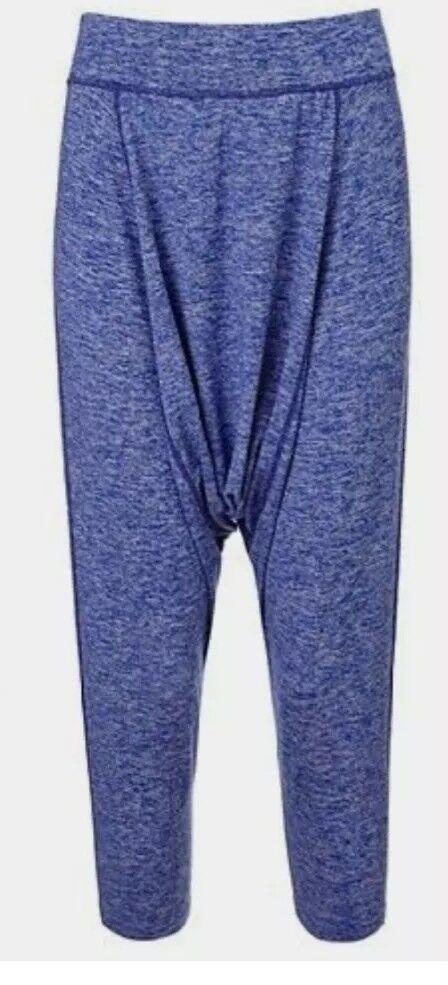 Sweaty Betty Hatha Yoga Capris In bluee EB747-B4