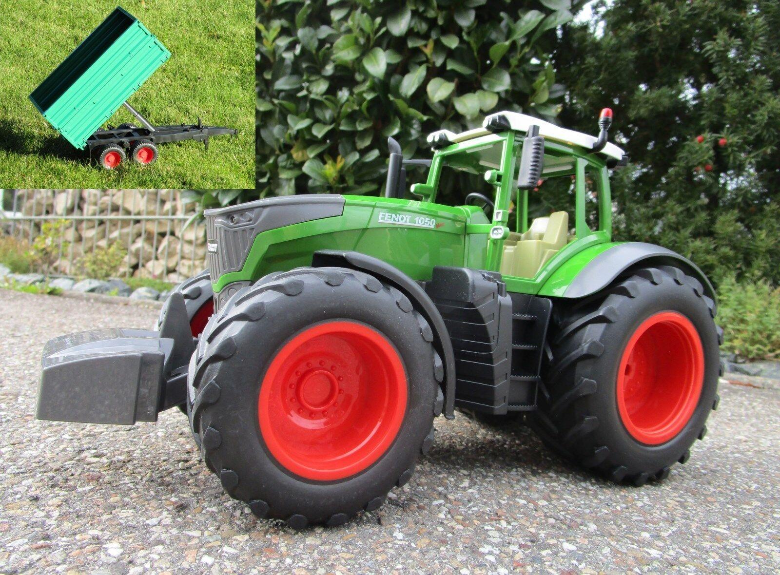 RC Traktor Fendt 1050 Vario mit Bordwandanhänger -ca 80 cm 1 16  Top  405035-H 3
