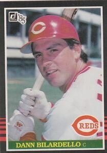 FREE SHIPPING-MINT-1985 (REDS) Donruss #243 Dann Bilardello PLUS BONUS CARDS