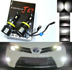 LED Kit G8 100W H11B 5000K White Two Bulbs Head Light Low Beam Replacement Lamp