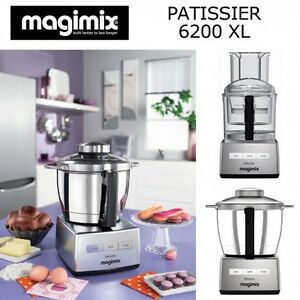 image is loading magimix patissier 6200 xl robot da cucina multifunzione