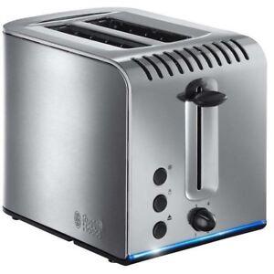 Russell-Hobbs-Buckingham-2-Scheiben-Toaster-20740-Breit-Schlitz-Gebuersteter
