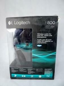 Logitech H800 Bluetooth Wireless Headset With Mic For Pc Tablets Open Box Ebay