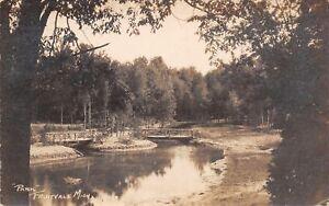 Fruitvale-MI-At-Least-Three-Footbridges-in-City-Park-RPPC-1923