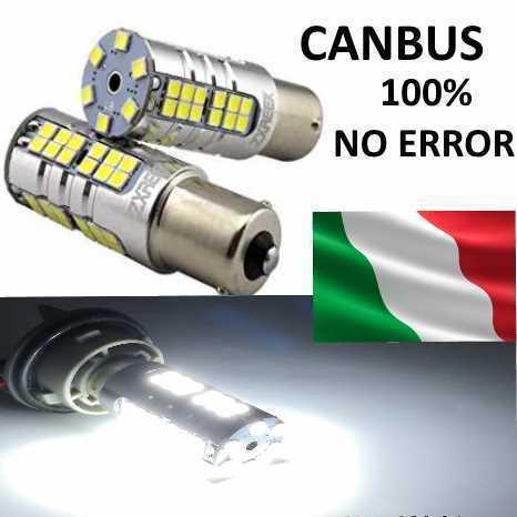 RENAULT 1 LAMPADA LED RETROMARCIA 6000K CANBUS P21W 1156 BIANCO 100/% NO ERROR