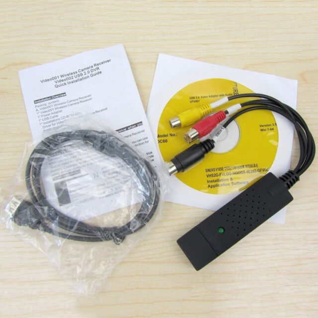 2016 new USB2.0 VHS to DVD Converter, convert analog video to digital format  O