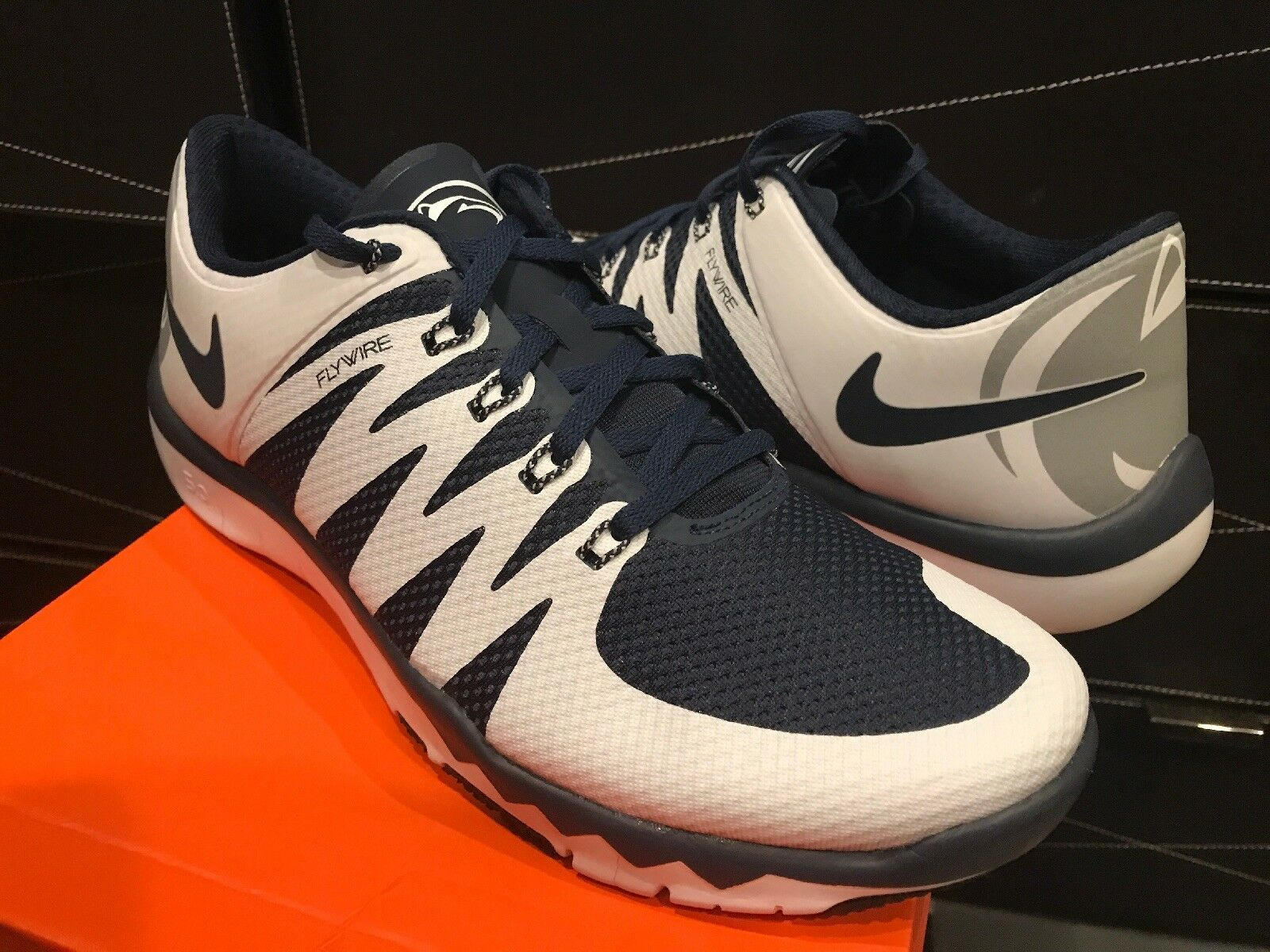 NEW NIKE FREE TRAINER 5.0 V6 Penn State Size 10